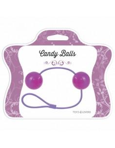Bolas Vaginais Candy Balls Roxas