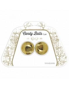Bolas Vaginais Candy Balls Lux Douradas