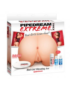 Masturbador Bad Girl Vibrating Ass Pipedream Extreme Toyz - PR2010317950