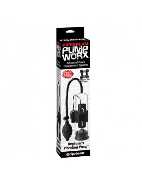 Bomba Vibratória Para O Pénis Pump Worx Beginner's Vibratin