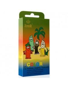 Preservativos Color - 12 Unidades - PR2010323555