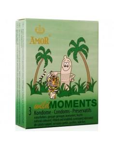 Preservativos Wild Moments - 3 Unidades - PR2010323547
