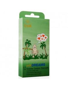 Preservativos Wild Dreams - 12 Unidades - PR2010323550