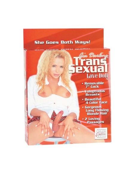 Gia Darling Boneca insuflável transexual