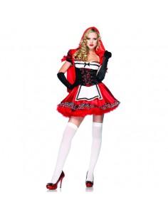 Fantasia De Capuchinho Vermelho Divine Miss Red
