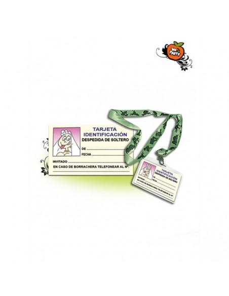 Cartão identificação solteira