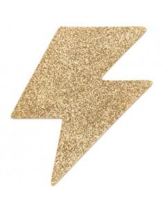 Tapa Mamilos Flash Glitter Bolt Bijoux Indiscrets Dourados - PR2010324332