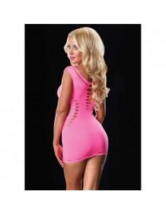 Vestido Com Sensuais Aberturas Rosa - Único - PR2010324464