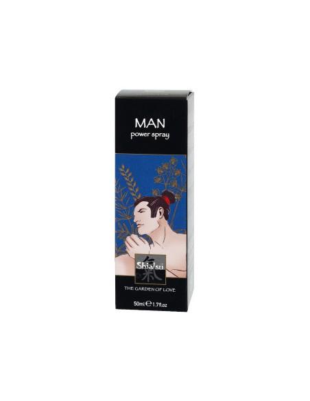 Spray Estimulante Shiatsu Man Power Spray - 50ml - PR2010299484
