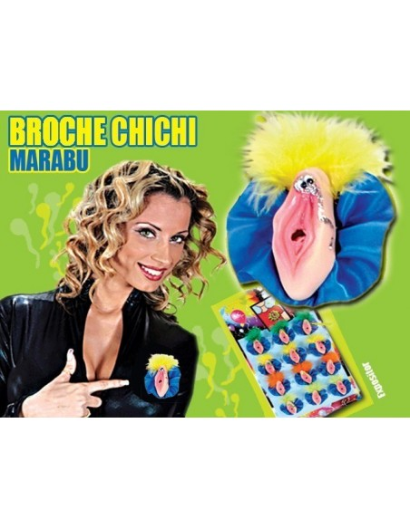 Broche Vagina Marabu - DO29011693