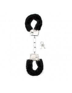 Algemas Com Peluche Furry Handcuffs Pretas