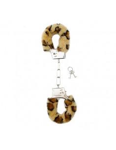 Algemas Com Peluche Furry Handcuffs Leopardo - PR2010328657