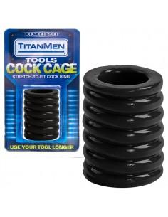 Anel Para O Pénis Cock Cage Titanmen