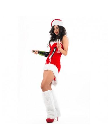 Fantasia Mãe Natal Sara - PR2010325383