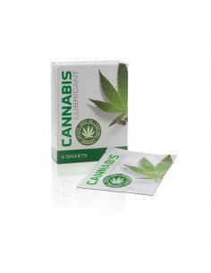 Saquetas De Lubrificante À Base De Água Cannabis Lubric 6x4 - PR2010337543