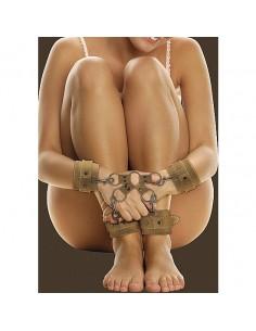Algemas Para Os Pulsos E Tornozelos Ouch! Premium Castanhas - PR2010336506