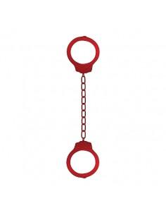 Algemas Para Os Tornozelos Em Metal Ankle Cuffs Vermelhas - PR2010341888