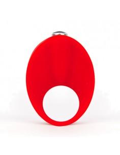 Anel Vibratório De Silicone Caliber Vermelho - PR2010339824