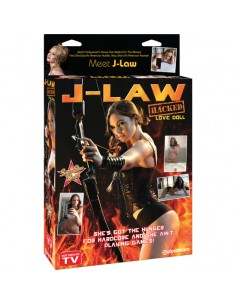 Boneca Insuflável J-Law Hacked Love Doll