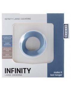 Anel Para O Pénis Infinity Large Cockring Azul - PR2010343549