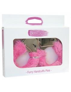 Algemas Com Peluche Bestseller Furry Handcuffs Rosa - PR2010343584