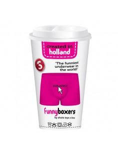 Boxer Divertido Skip Intro Rosa - Único - PR2010305015