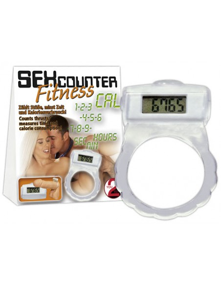 Sex Counter Fitness - Anel para Pénis Contador de Calorias - DO29904998