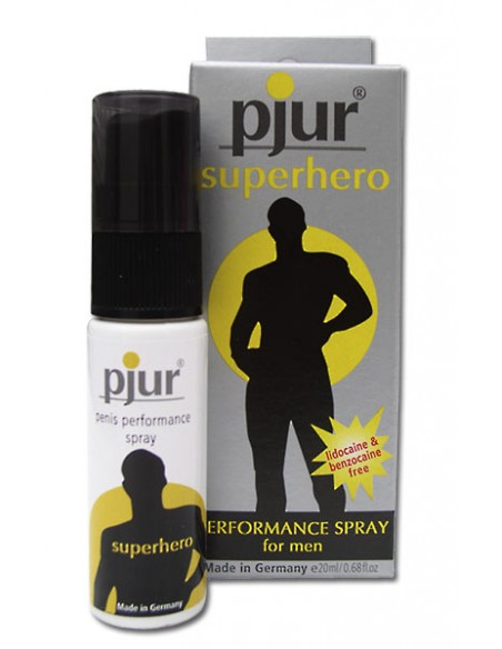 Spray Retardante Pjur Superhero