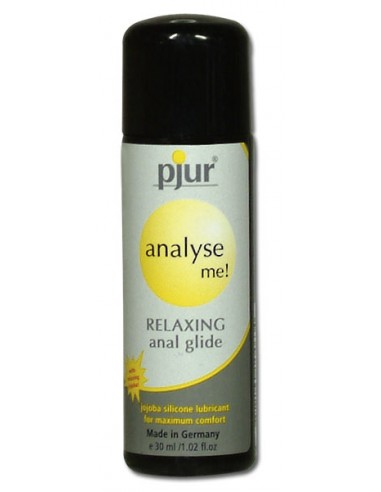 Lubrificante À Base De Silicone Pjur Analyse Me! Rela - 30ml - DO29004871