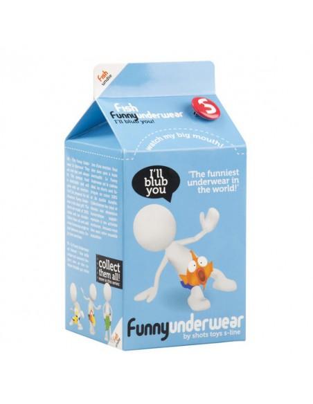Boxer Funny Underwear Peixe - Único - PR2010305003