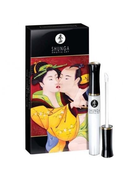 Shunga Divine Oral Pleasure Gloss Champanhe Morango