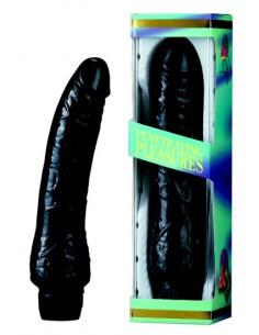 Black Vibrador Jelly de 20 cm.