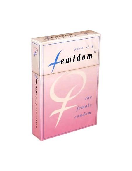 Preservativos Femininos Femidom 3 unid.