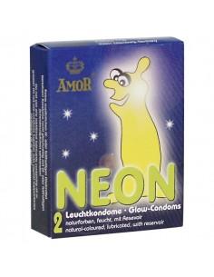 Preservativos Fluorescentes Néon