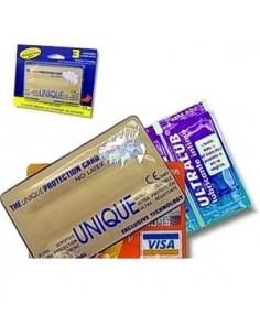Preservativos Unique Em forma de VISA Sem Latex
