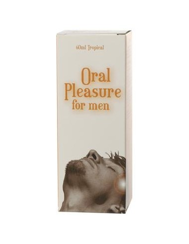 Spray Íntimo Oral Pleasure Para Homem Sabor Tropical - 60ml - PR2010300194