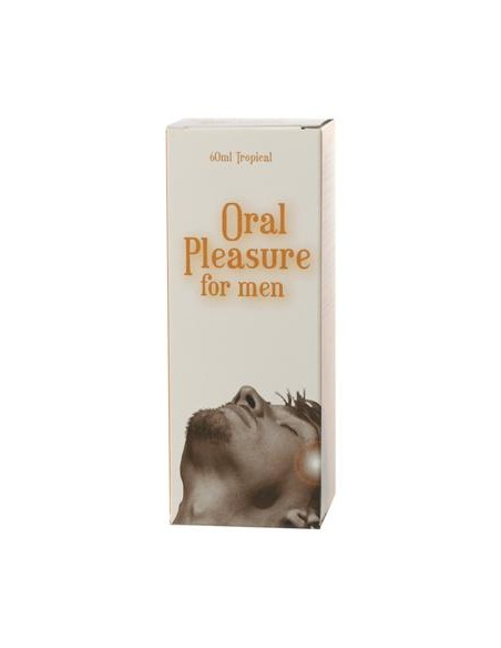 Spray Íntimo Oral Pleasure Para Homem Sabor Tropical