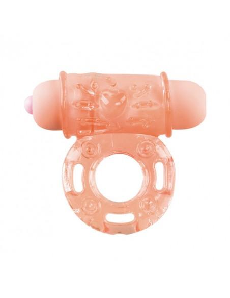 Anel Vibratório Vibrating Bullet Ring Cor Da Pele - PR2010305118