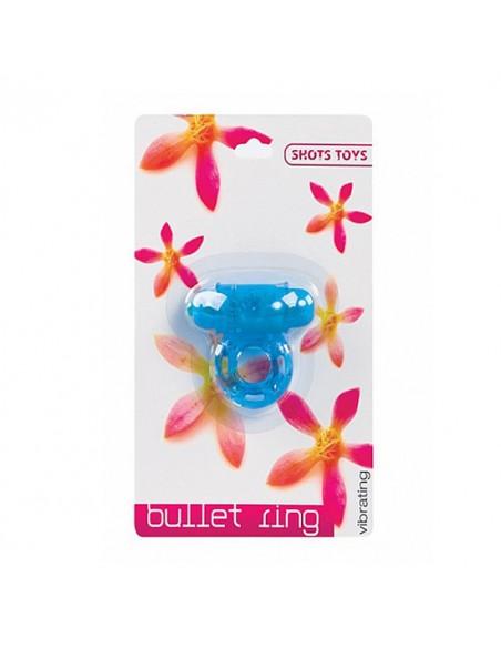 Anel Vibratório Vibrating Bullet Ring Azul - PR2010305117