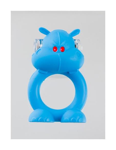 Anel Vibratório Com Luz Beasty Toys Happy Hippo - PR2010302114