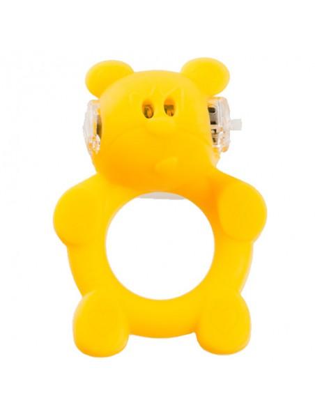 Anel Vibratório Com Luz Beasty Toys Brutal Bear