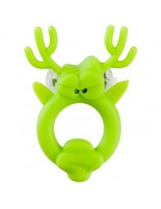 Anel Vibratório Com Luz Beasty Toys Rockin Reindeer