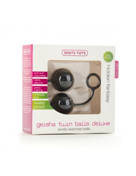 Bolas Geisha Twin Balls Deluxe Preto - PR2010311713