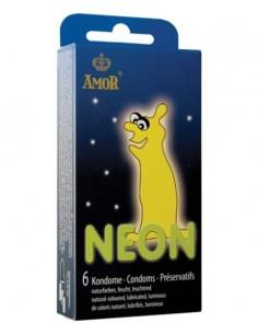 Preservativos Fluorescentes Néon - 6 Unidades - PR2010318601