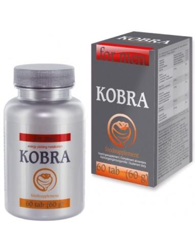 Cápsulas Estimulantes Kobra Para Homem 30 Caps - PR2010319732