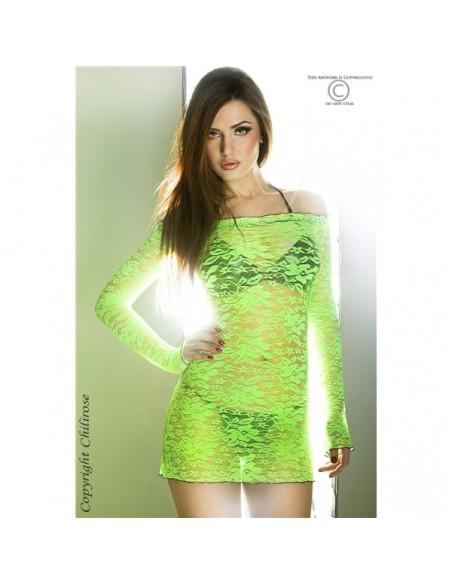 Camisa De Noite Cr-3339 Verde
