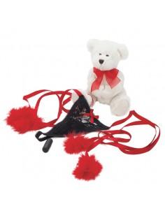 Kit Romantico ursinho e tanga