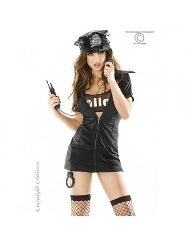 Fantasia De Polícia Cr-3350 - 40-42 L/XL - PR2010318844