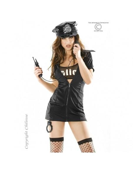 Fantasia De Polícia Cr-3350
