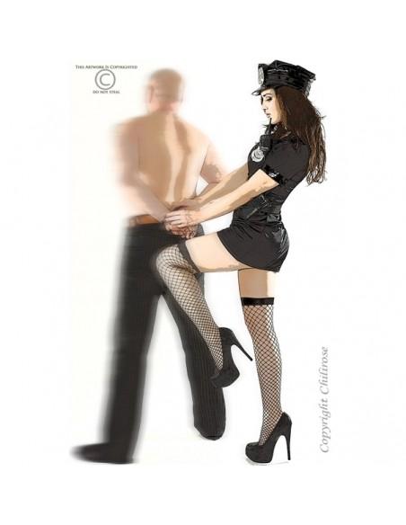 Fantasia De Polícia Cr-3350 - 36-38 S/M - PR2010318843